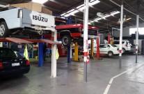 Auto Repair Workshop Inside
